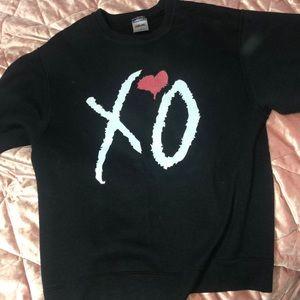 XO/ The Weeknd crew neck black